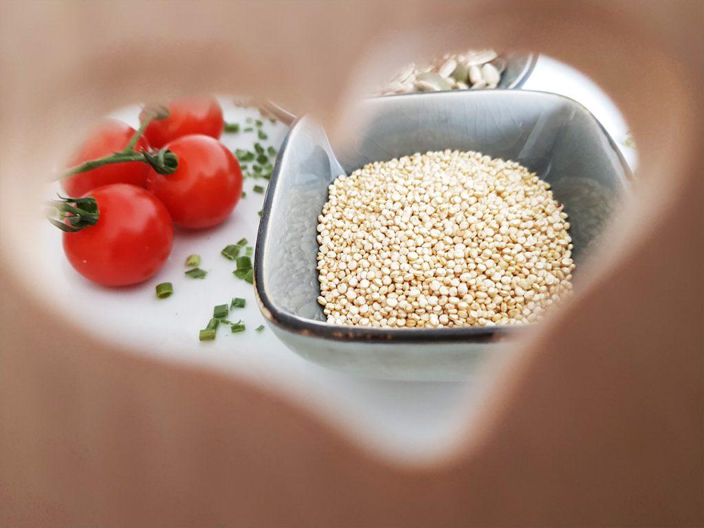 Quinoa mit Tomaten